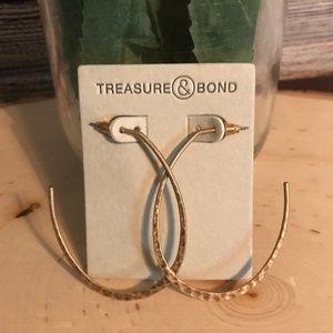 3/$20 NWT Treasure & Bond Nordstrom Hoop Earrings
